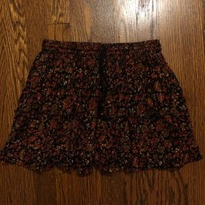 Rags mini skirt